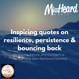Resilience Failure And Confidence The Running Start Resilience