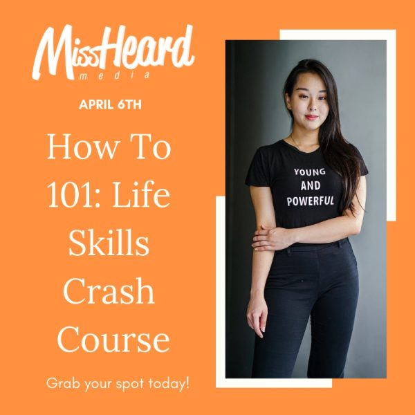 How To 101: Life Skills Crash Course, April 2019