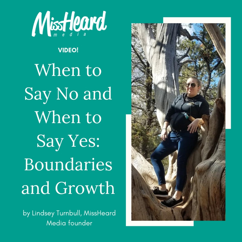 Boundaries and Growth: Saying No and Saying Yes